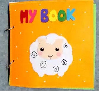 Quiet Book Mini - Sheep
