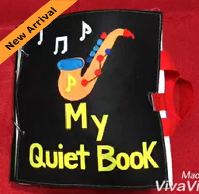 Quiet Book - Saxophone - JustRead.com.au