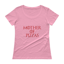Mother of Pizzas Ladies' Scoopneck T-Shirt