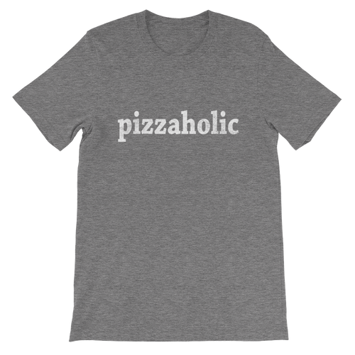 pizzaholic Unisex short sleeve t-shirt