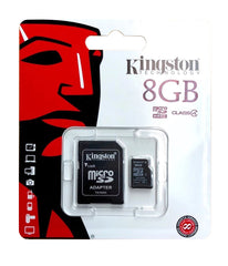 Kingston 8GB Micro SD Card + Adaptor