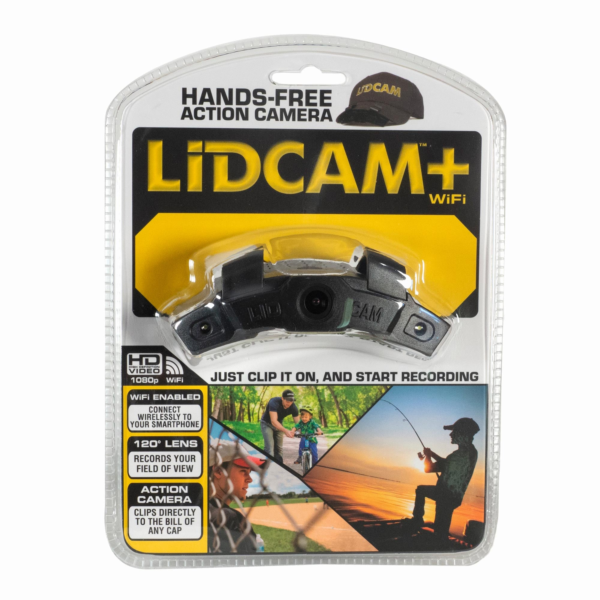 Lidcam+ Pro Series w/ WiFi + Zoom - Black