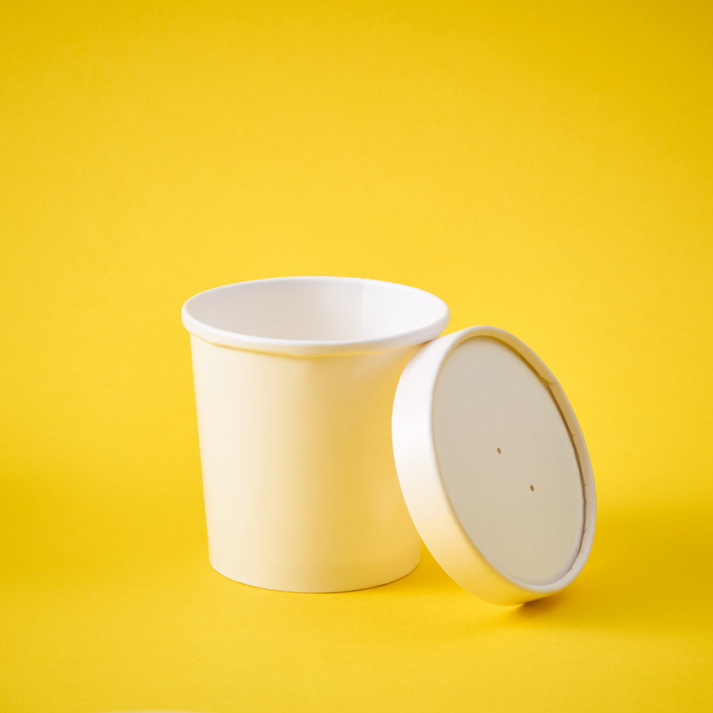 Cup Cardboard & Lid (Small)