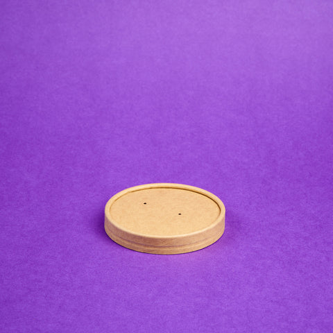Lid Cup Kraft Brown (Small)