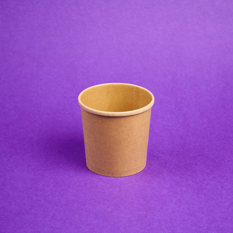 Cup Kraft Brown (Small)