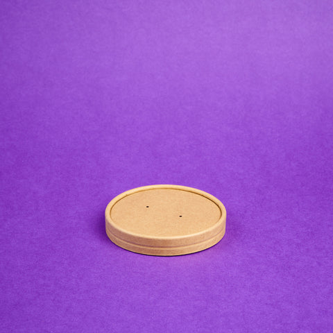 Lid Cup Kraft Brown (Big)