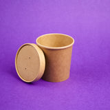 Cup Kraft Brown (Big)