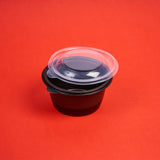 Lid Bowl Black (Small)