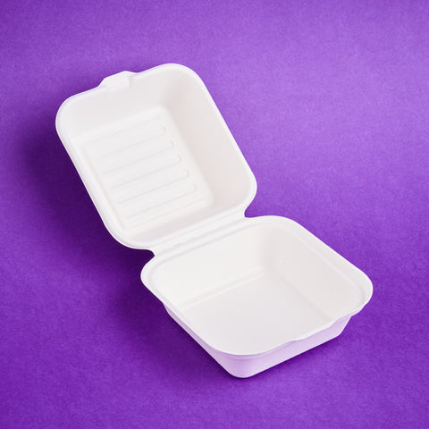 Burger Box White (Small)
