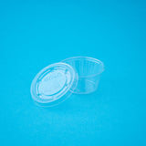 Transparent Lid Sauce Cup (Big)