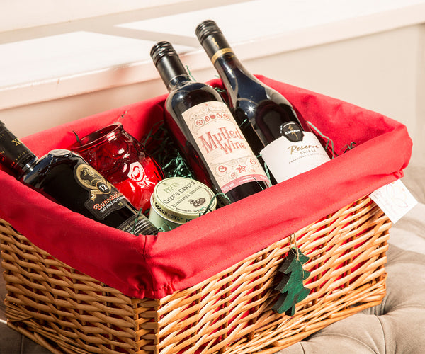 3 Ways To Use A Basket This Christmas