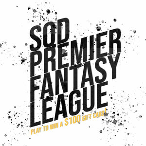 The SQD League: Premier League Fantasy Draft