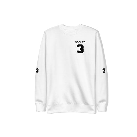 Goals 3-Peat Fleece Pullover BL by Squared Limited