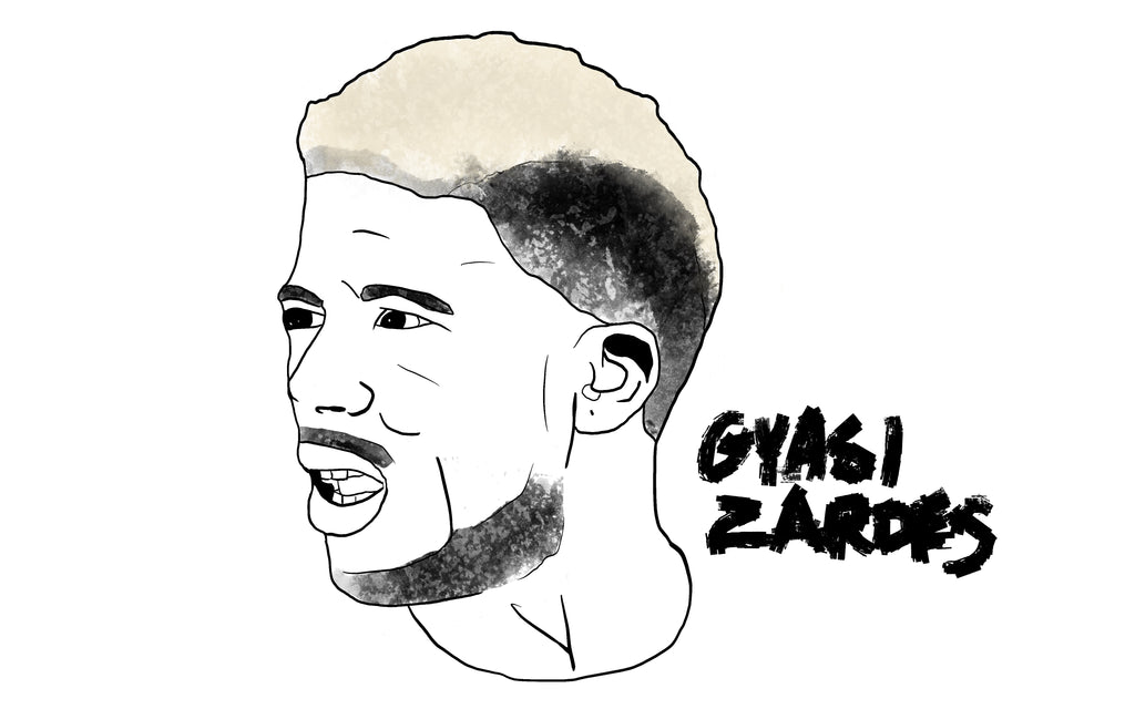 Gyasi Zardes drawing by Squared Limited