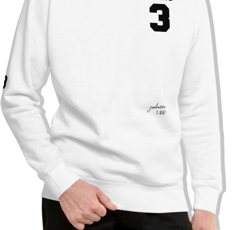 Goals 3-Peat Fleece Pullover with Signature by Squared Limited