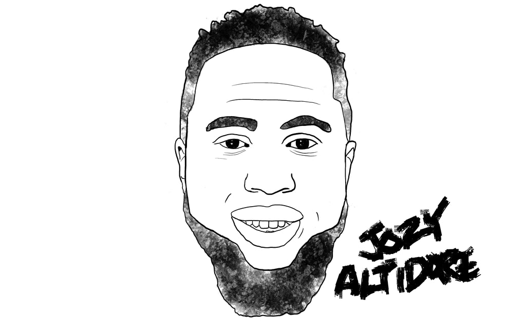 Jozy Altidore drawing by Squared Limited