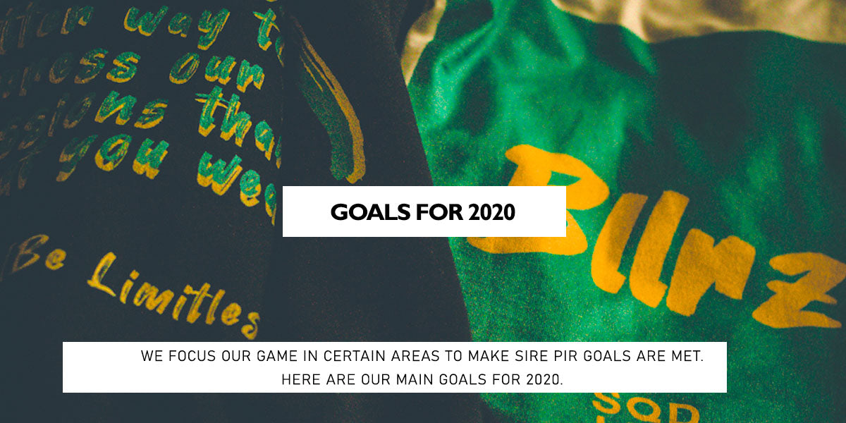 Goals for 2020 Squared Limited