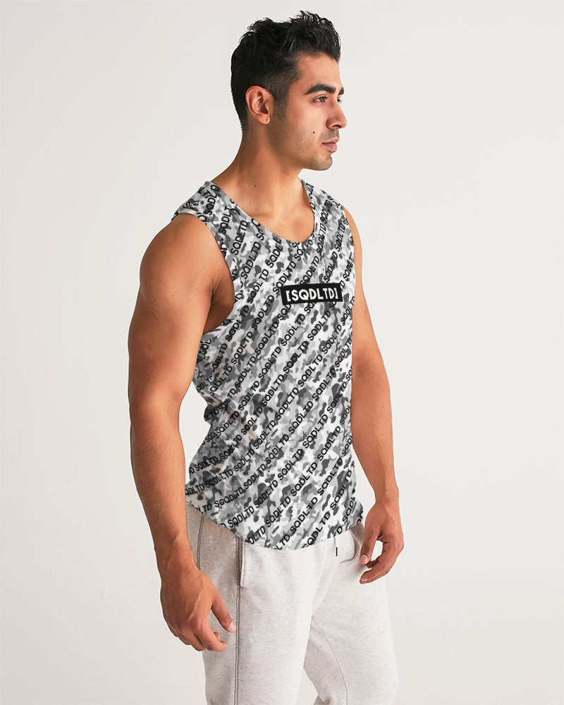 SQD Men's Sports Tank Camo Lite by Squared Limited