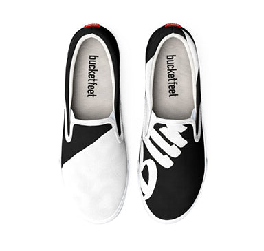 Bllrz BnW Slip Ons by Squared Limited