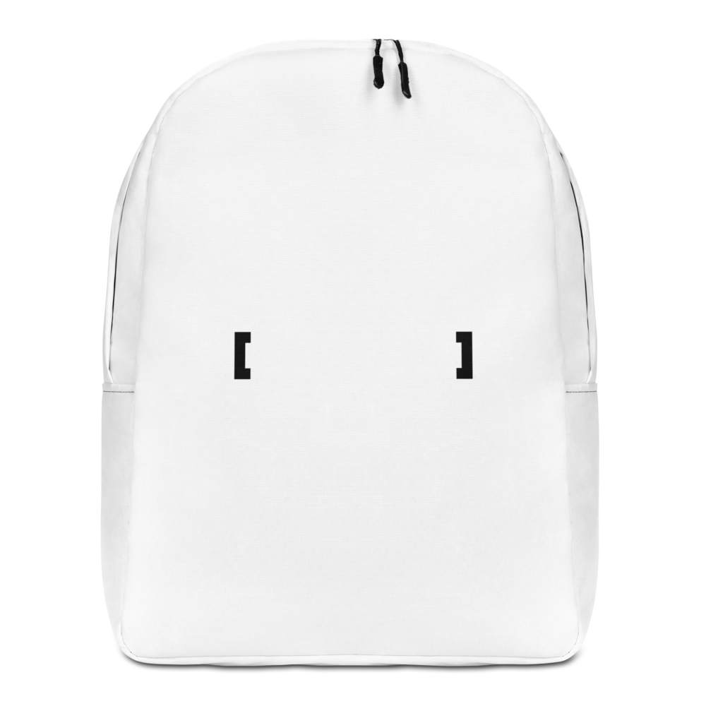 Sqdltd No Words Minimalist Backpack BL by Squared Limited