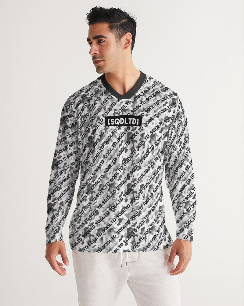 SQD Men's Long Sleeve Sports Jersey Camo Lite by Squared Limited