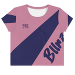 Bllrz Ao Crop Tee Cttn Cndy by Squared Limited