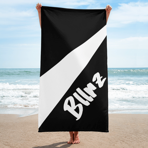 Bllrz Towel BnW by Squared Limited