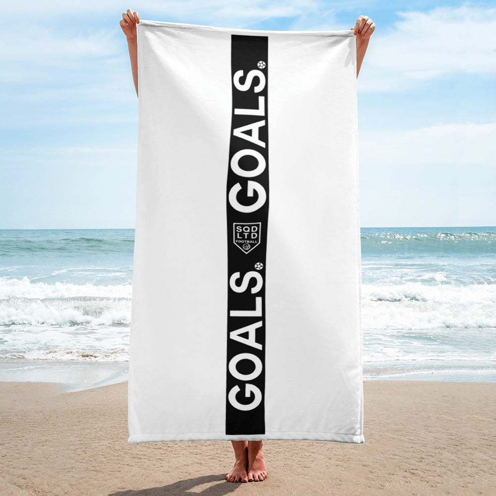 Goals Strip Towel B by Squared Limited