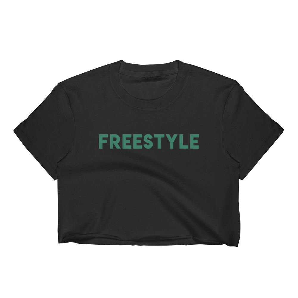 Freestyle Crop Tee GR