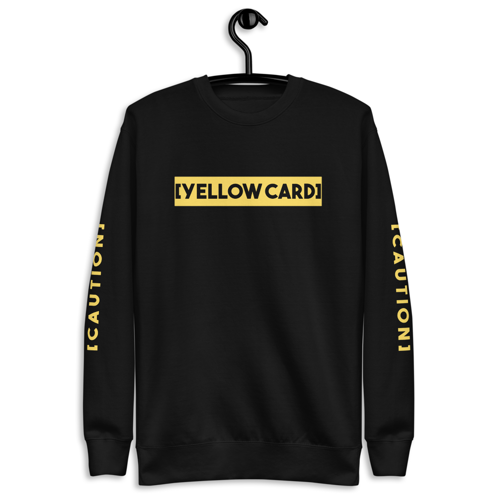 Sqdltd Yellow Card Pullover
