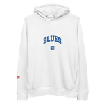 Blues Outline Pullover Hoodie by Squared Limited
