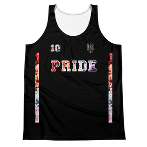 Be Limitless Pride 10 Signed Unisex Tank B by Squared Limited