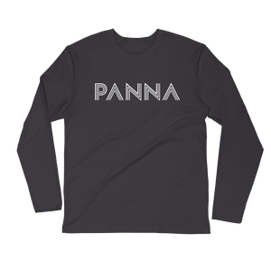 Panna C Long Sleeve Fitted Crew Shirt