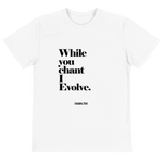 While You Chant Eco Tee BL by Squared Limited