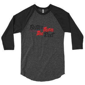 BTR United 3/4 sleeve raglan shirt