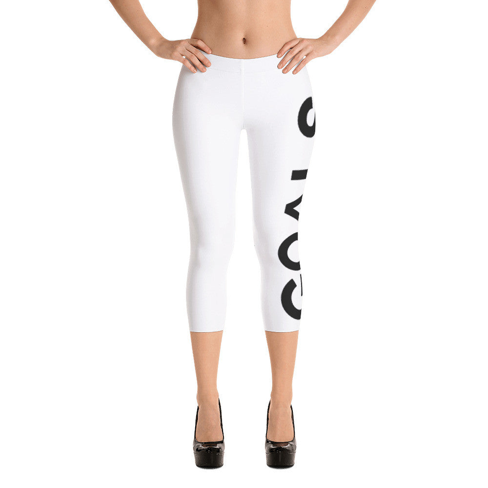 Goals Capri Leggings WnB by Squared Limited