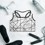 BoTN Padded Sports Bra BL by Squared Limited