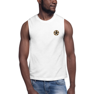 3-Peat Muscle Shirt by Squared Limited