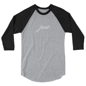 Joue 3/4 black sleeve raglan shirt W
