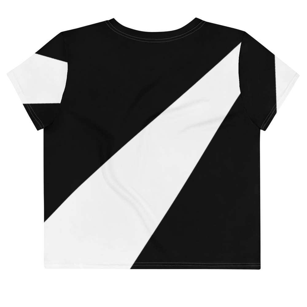 Bllrz Ao Crop Tee BnW by Squared Limited