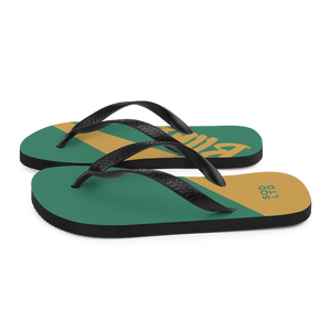 Bllrz Flip-Flops LckyChrm by Squared Limited