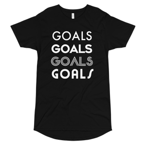 Goals Quad Long Body Tee WL by Squared Limited