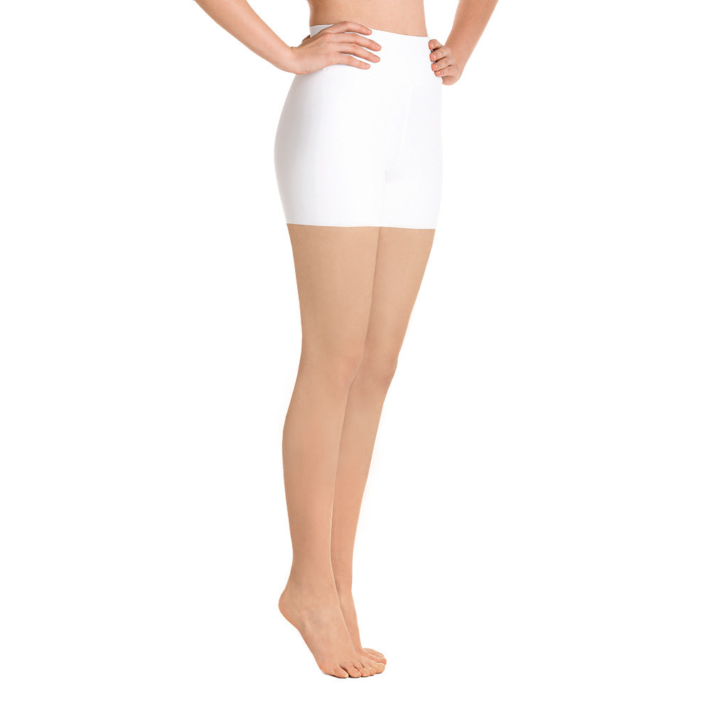 Sqd Basic Yoga Shorts WhitE