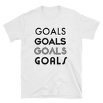 Goals Quad Tee BL by Squared Limited