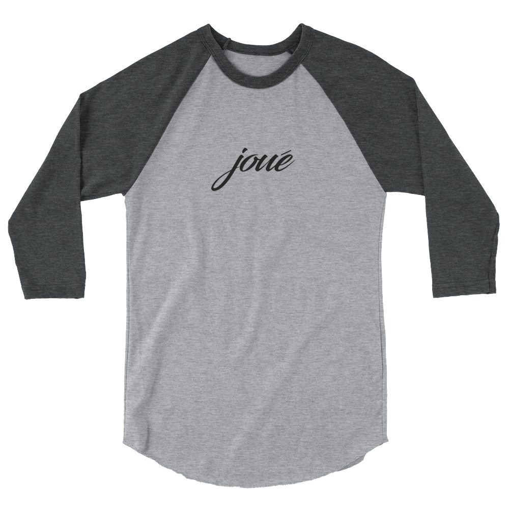 Joue 3/4 gray sleeve raglan shirt B