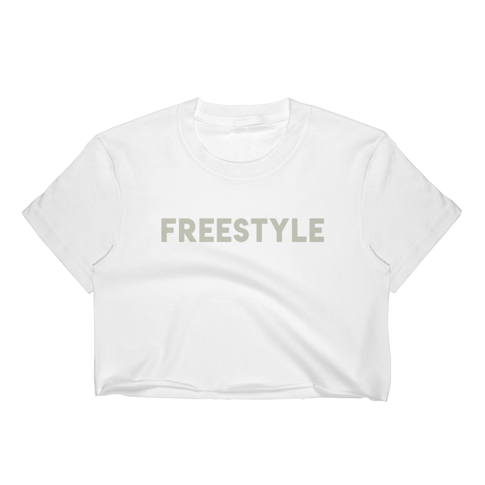 Freestyle Crop Tee GY