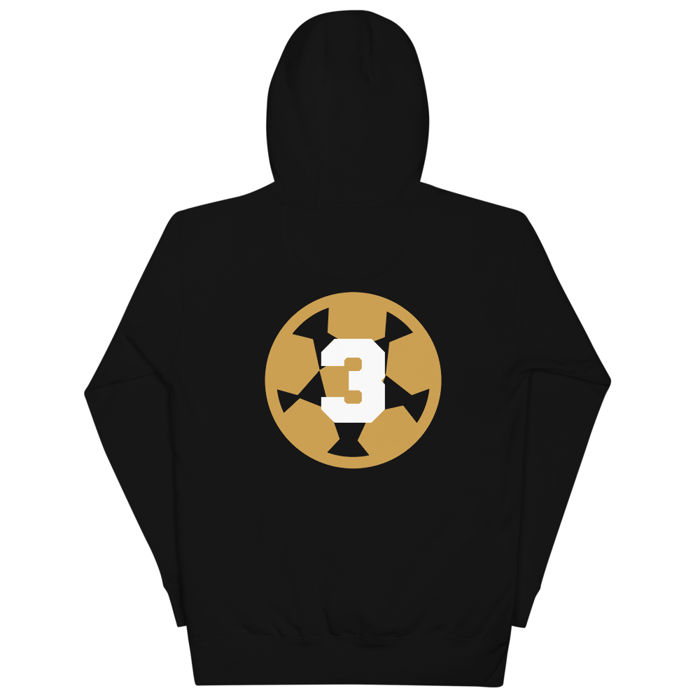 3-Peat Hoodie WL by Squared Limited
