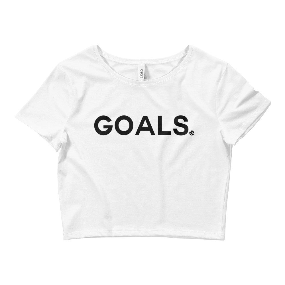 Goals Crop Top BL by Squared Limited
