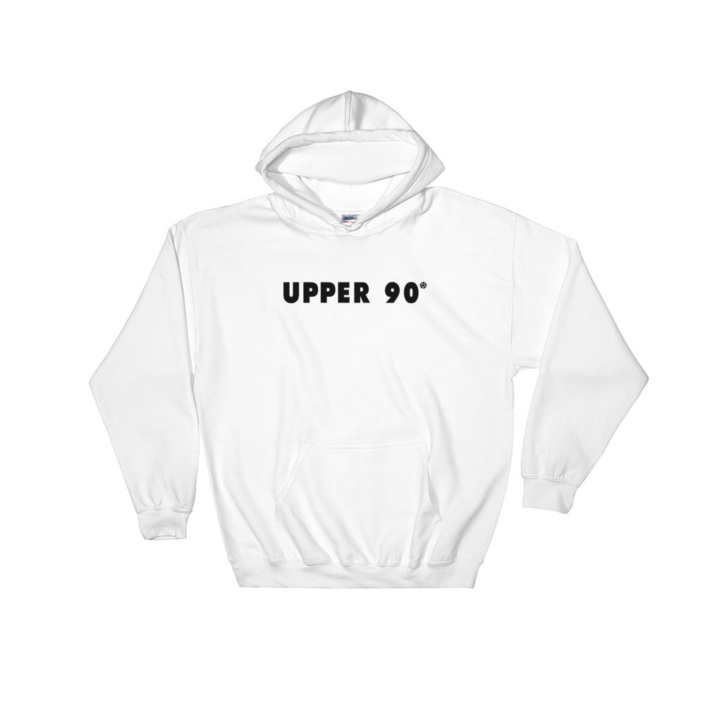Upper 90 Hooded Sweatshirt black logo