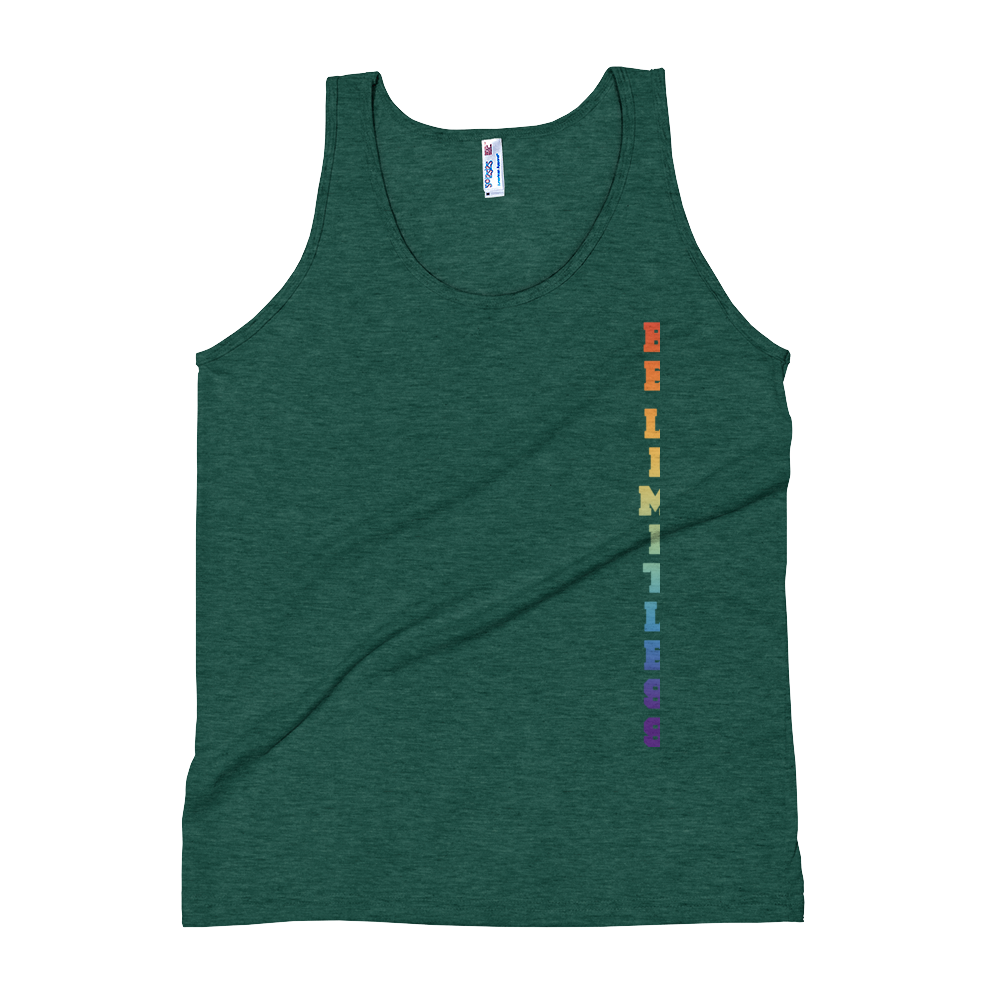 Be Limitless Pride DM Unisex Tank by Squared Limited